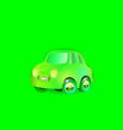 car green most top-end toy color in style funny vector image vector image