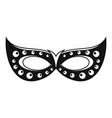 italian carnival mask icon simple style vector image vector image