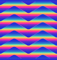neon wave pattern vector image vector image
