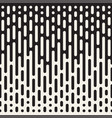 seamless irregular lines halftone black and white vector image