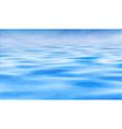 Water horizon vector image vector image