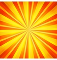 Abstract orange and yellow line background vector image