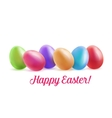 Easter festive background for greeting cards vector image
