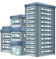 3d design for tall building vector image vector image