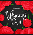 8 th march international womens day vector image vector image