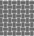 black white seamless textile pattern vector image vector image
