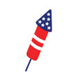 firecracker icon design template isolated vector image vector image