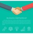 Handshake Concept vector image