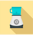 modern blender icon flat style vector image vector image