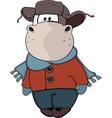small cow Cartoon vector image vector image