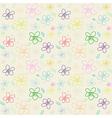 Flower Pattern Color 01 vector image