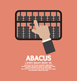 Abacus A Traditional Counting Frame vector image vector image