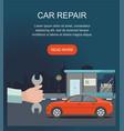automobile repair service vector image