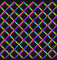 bright grid geometric seamless pattern vector image