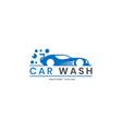 car wash logo design inspiration vector image vector image