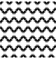 Design seamless horizontal zigzag pattern vector image