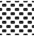 envelope seamless pattern mail texture vector image