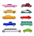 Retro car vehicle vector image vector image