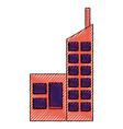 urban building tower vector image vector image