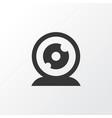 web camera icon symbol premium quality isolated vector image vector image