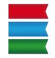 ribbon bookmark vector image