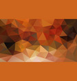 abstract irregular polygonal background fall vector image vector image