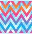 bright zigzag geometric pattern vector image