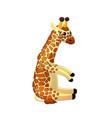 cartoon animal clip art vector image vector image