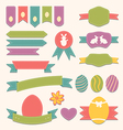 Easter scrapbook set - labels ribbons and other