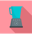 kitchen blender icon flat style vector image