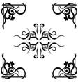 Tribal tattoo pattern vector image