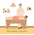 Beauty Salon Spa People vector image vector image