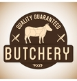 Butchery or butcher theme vector image