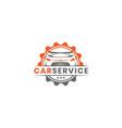 car service logo design template inspiration vector image vector image