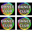 Dance club logo concept