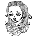 Death Women vector image vector image