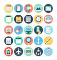 Digital Marketing Icons 4 vector image vector image