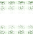 Dotted Green Background Halftone Pattern vector image vector image