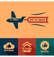 flat open icons vector image vector image