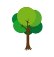 tree green cartoon vector image