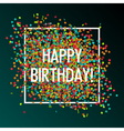 celebration birtday vector image