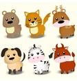 a animals vector image