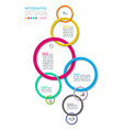 business step options and abstract infographics vector image vector image