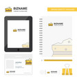 cheese business logo tab app diary pvc employee vector image vector image