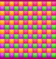 colorful abstract mosaic seamless pattern vector image