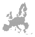 european union map country abstract silhouette of vector image vector image
