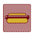 hot dog flat icon vector image vector image