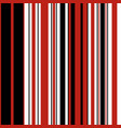 stripe seamless pattern vector image vector image