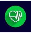 Heartbeat Echocardiography Cardiac exam Form vector image