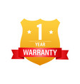 1 year warranty support service icon